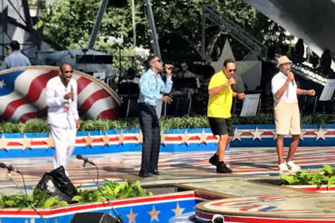 Blues Brothers, Four Tops prep for 'A Capitol Fourth'