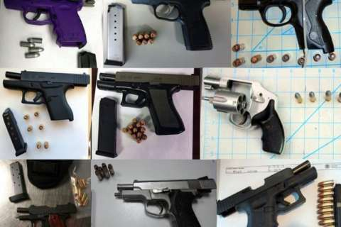 TSA: Record number of travelers caught with loaded guns at airports