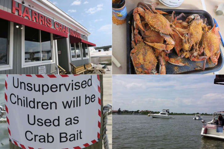 Harris Crab House And Seafood Restaurant 433 Kent Narrow Way North Grasonville Maryland 21638 410 827 9500