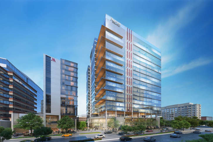 Marriott S Plans Include Opening New Headquarters As Well A Flagship Hotel In Bethesda Courtesy International Inc