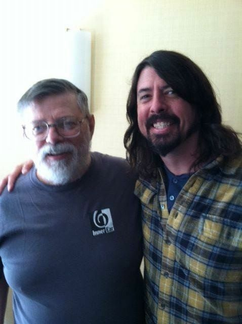 Skip Groff sold Dave Grohl's records for years. Grohl interviewed Groff for his 'Sonic Highways' movie. (Courtesy Skip Groff)