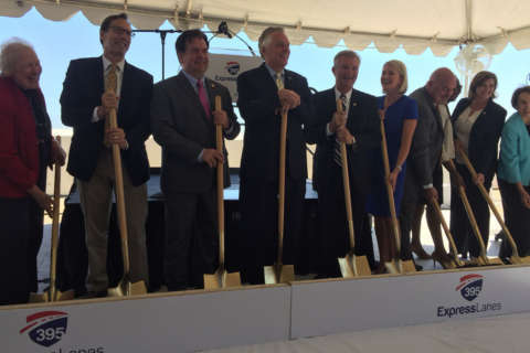 Construction on I-395 HOV lanes begins