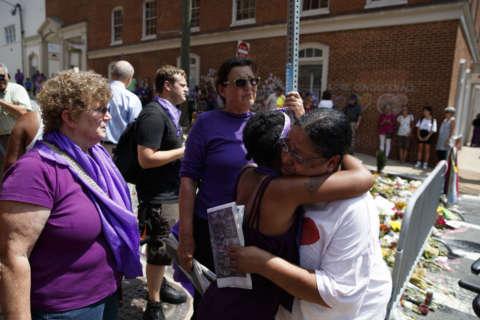 Photos: Memorial service for slain Charlottesville woman