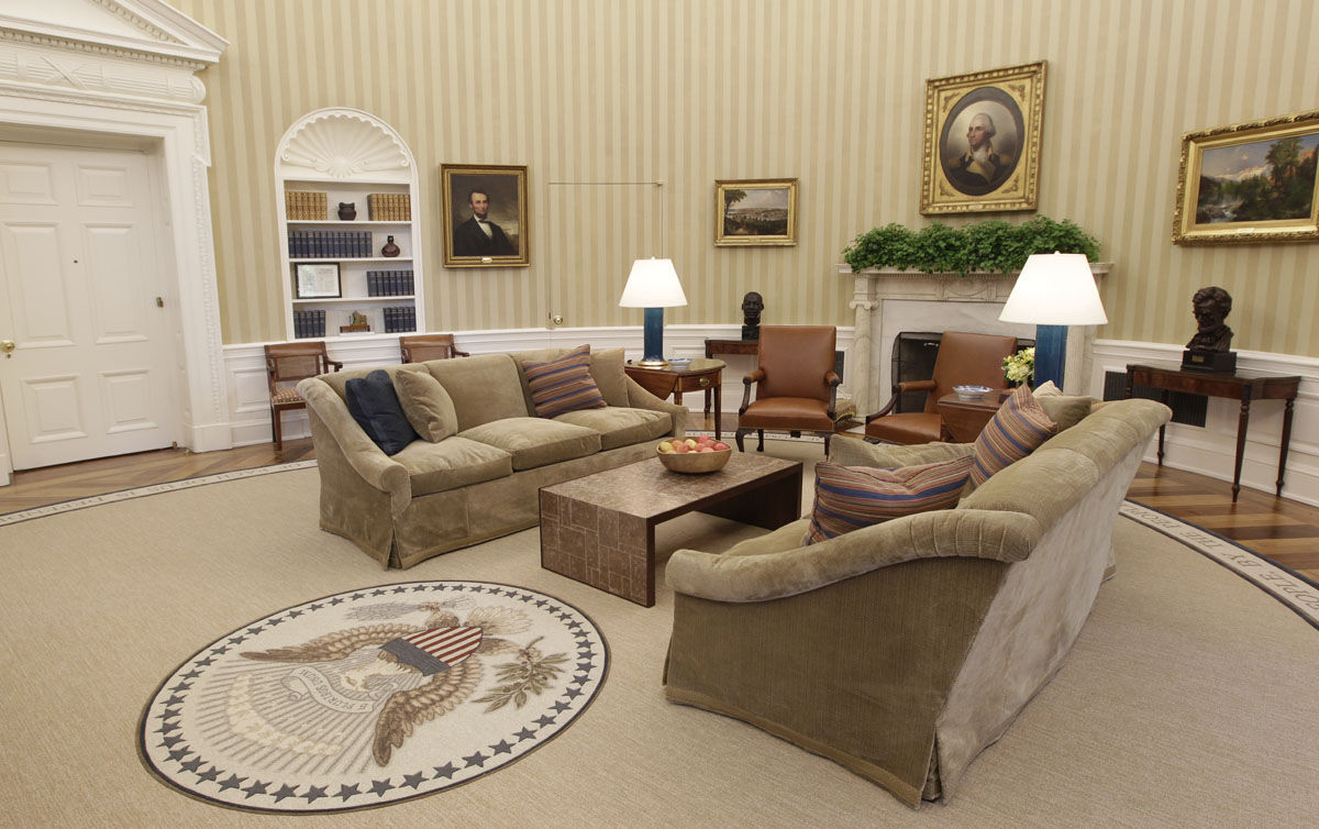 Photos New Look For White House S West Wing After