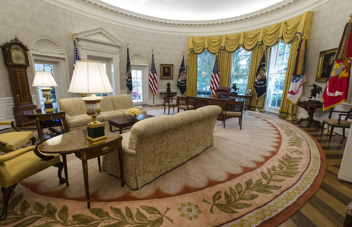 Photos: New look for White House's West Wing after ...