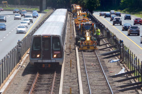 Weekend Metro work hits all lines, shuts down part of Red Line