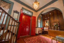 The six-bedroom manse is listed on the National Register of Historic places. Trip Advisor lists Chanceforce Hall as the top B&B in the area. It's now on the market for $595,000. (Courtesy Ashley Holloway/AD Photography & Design)