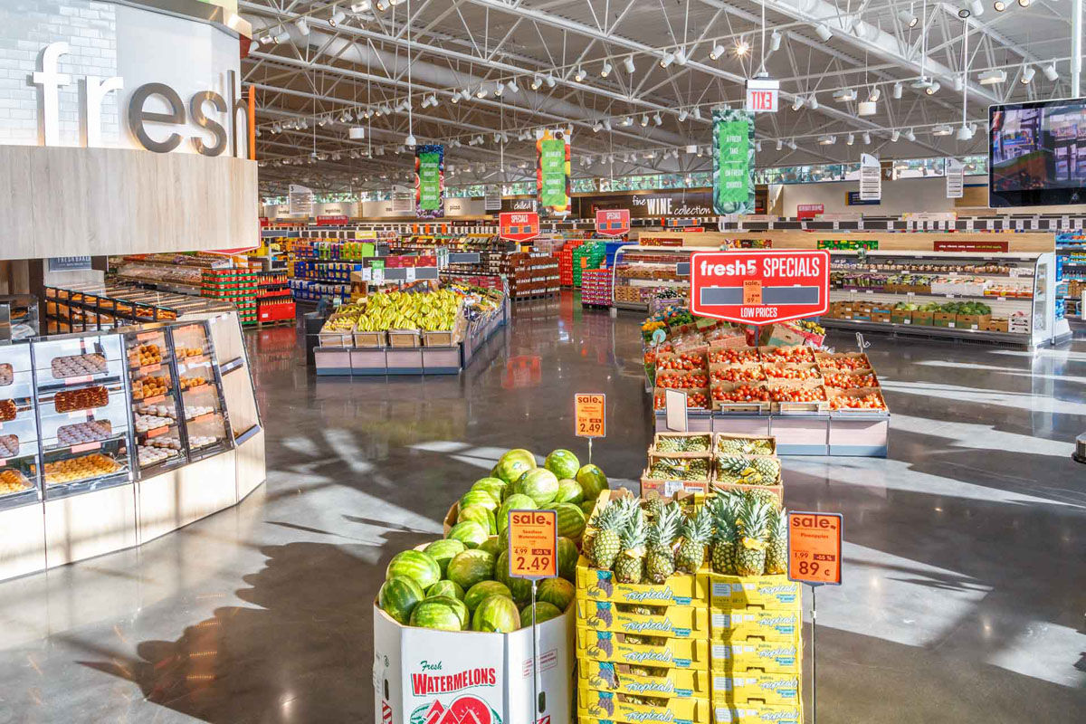 Photos provided by Lidl show the interior of a U.S. store. (Courtesy Lidl)