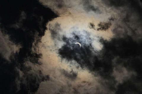 Photos: Millions watch eclipse across US