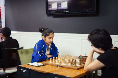 Just 14, US junior girls' chess champion hails from Northern Virginia