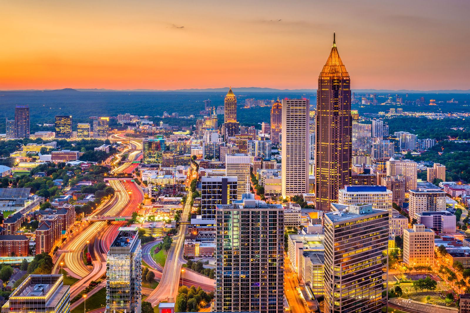 Atlanta, Georgia comes in at No. 17 on the list. (Thinkstock)