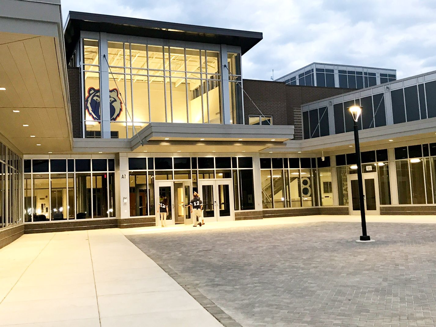 Brambleton Middle School is one of Loudoun County's new schools. (WTOP/Neal Augenstein)