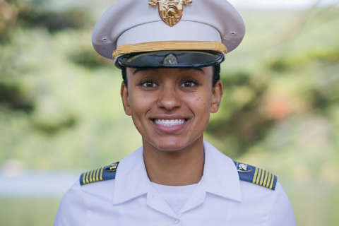 At West Point, Fairfax High grad makes history as first African-American female top cadet