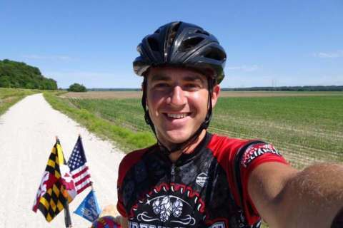 Maryland cyclist bikes cross-country to raise money for pediatric heart disease