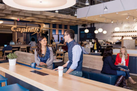 Capital One to open cafes in DC