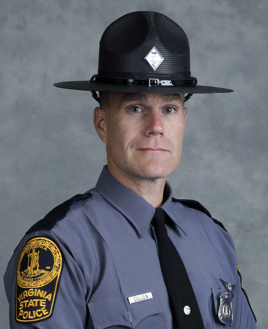 "Funeral for Virginia trooper, ""silent giant,"" killed in helicopter crash"