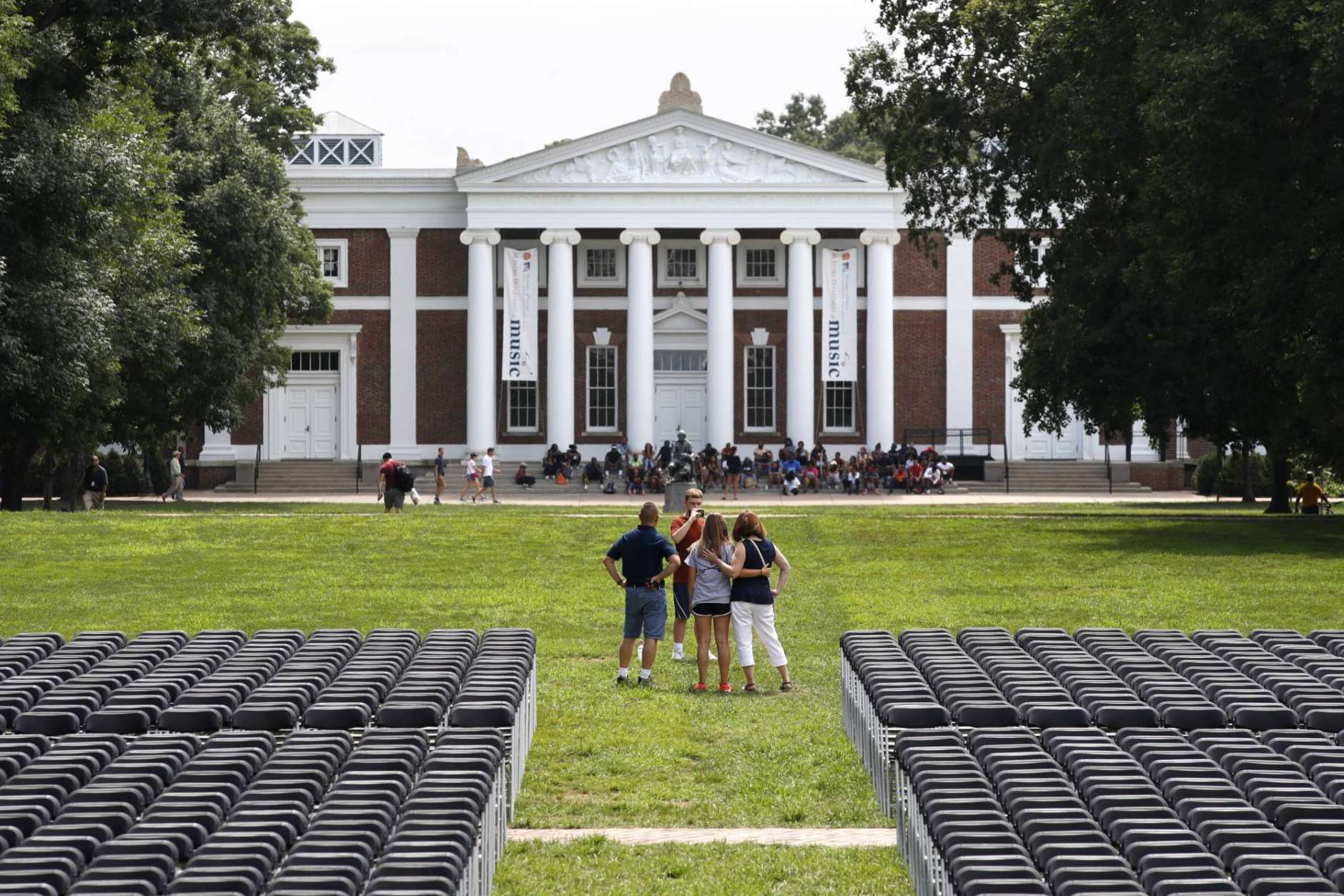 An award-winning author and professor at University of Virginia is the subject of a Title IX investigation. (AP Photo/Jacquelyn Martin)