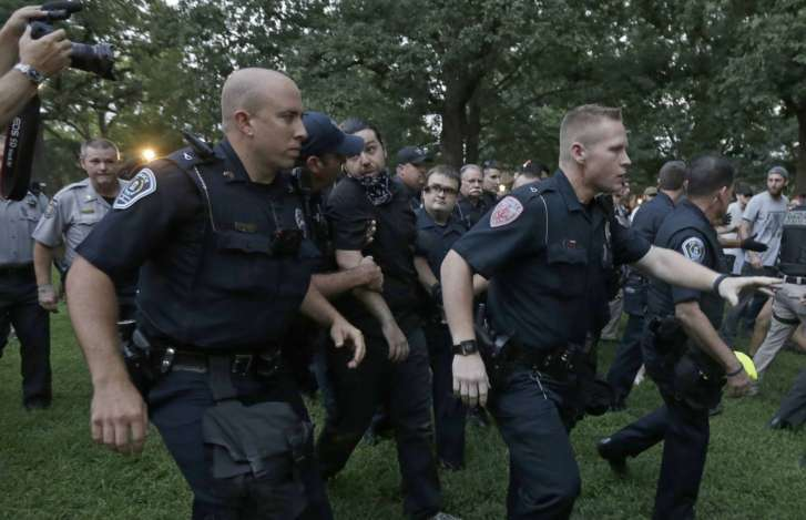 Police obtain arrest warrants for white nationalist Christopher Cantwell