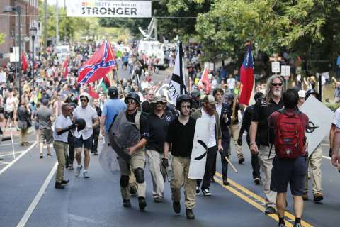 State of emergency declared in Va. in response to white nationalist rally