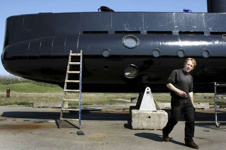 Private Submarine Sinks Off Denmark, Crew Safe