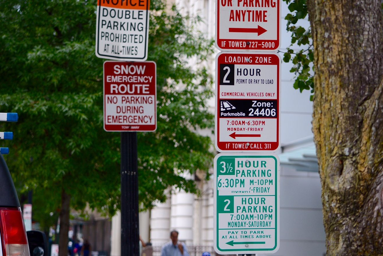 A new study revealed how much time drivers in Washington, D.C. spend a year looking for a spot and how much it's costing them. (WTOP/Dave Dildine)