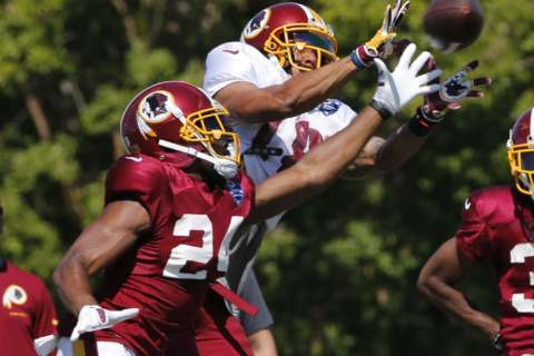 After 5 straight days in pads, Redskins get day off