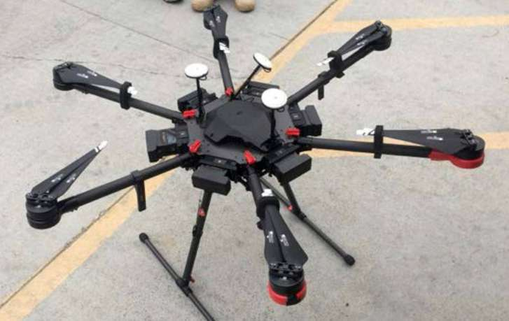 Man arrested for using a DRONE to smuggle meth from Mexico