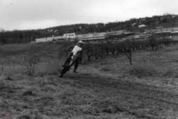 Tysons dirt bike track on Leesburg Pike near Pike 7 Plaza in 1972. (Courtesy Tysons Partnership)