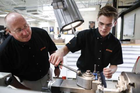 Maryland apprenticeship program transitions students directly into jobs after graduation