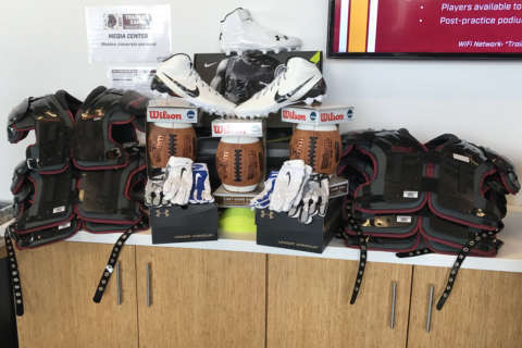 Redskins Charitable Foundation, Good Sports donate equipment to Richmond youth organizations