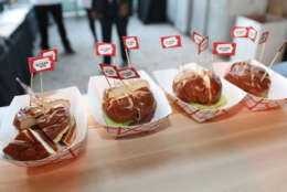 MIAMI BEACH, FL - FEBRUARY 24:  A general view during the South Beach Wine & Food Festival's Heineken Light Burger Bash, where Al Roker's booth served the Beyond Burger on February 24, 2017 in Miami Beach, Florida. (Photo by Aaron Davidson/Getty Images for BEYOND MEAT)