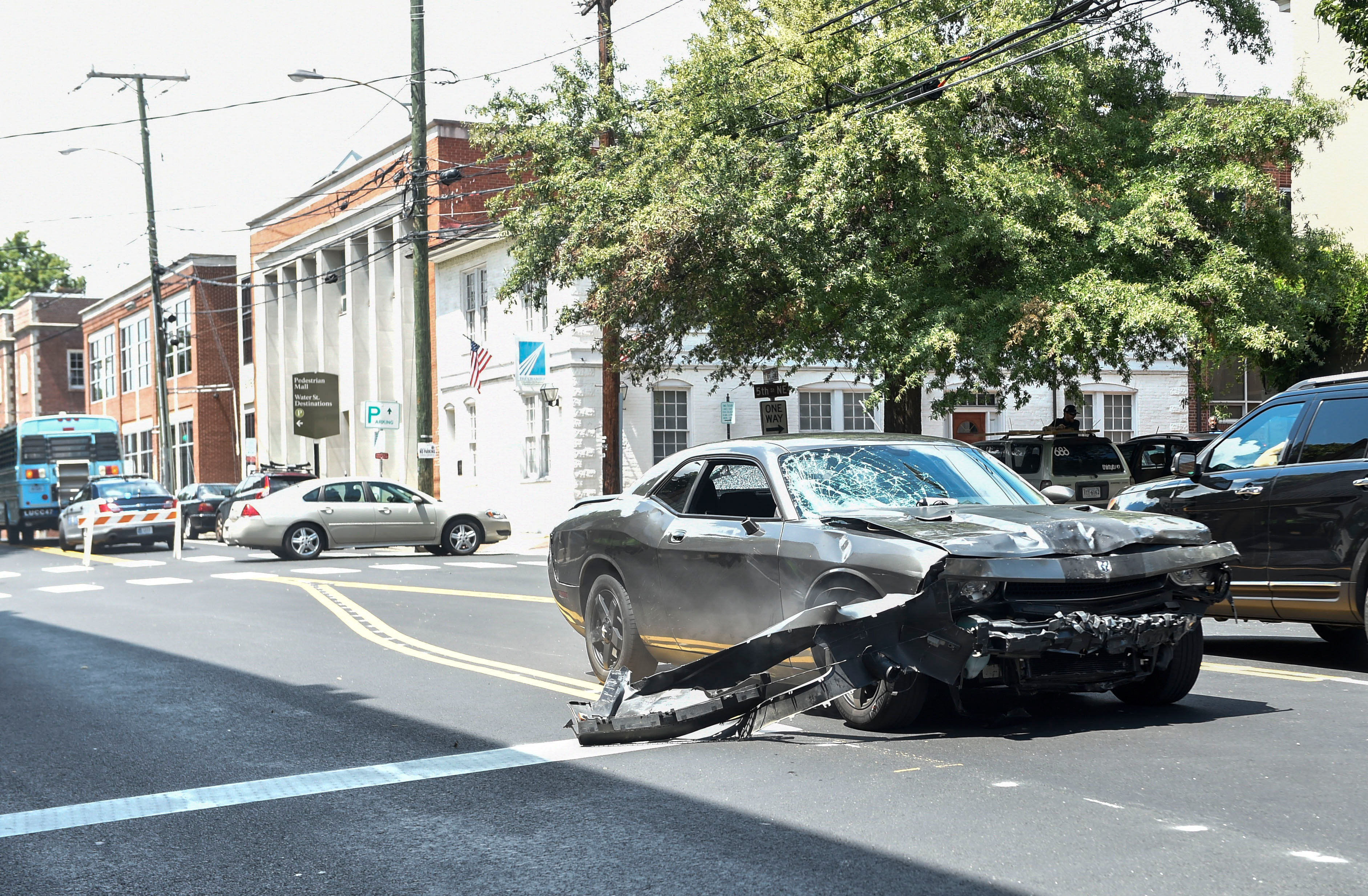 Who Was Driving The Car In Charlottesville