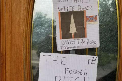 Racist notes left at Va. church spark police investigation