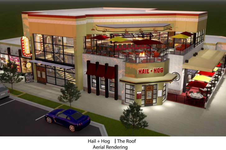 The S Themed Restaurant Hail Hog Closes Its Door After Only 15 Months In Operation Courtesy G3 Restaurants