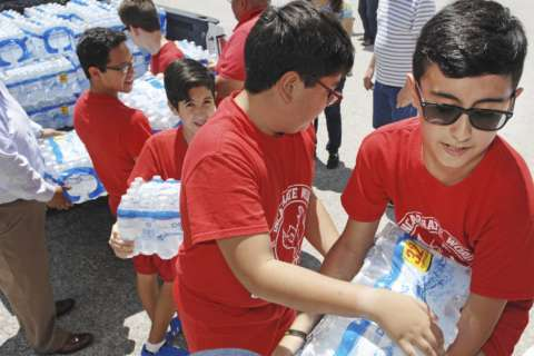 Salvation Army plans for a multiyear Harvey response