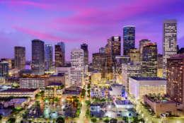 Houston, Texas came at No. 6 on the list. (Thinkstock)