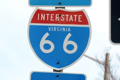 Driver hits 120 mph in police chase on I-66, causes chain-reaction crash