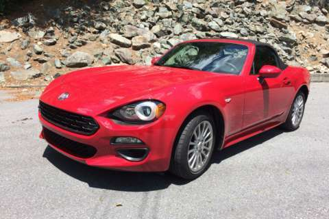 Car Review: 2017 Fiat 124 Spider: An Italian take on the small roadster