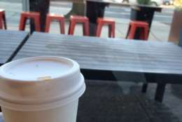 Coffee at Little Red Fox in NW DC