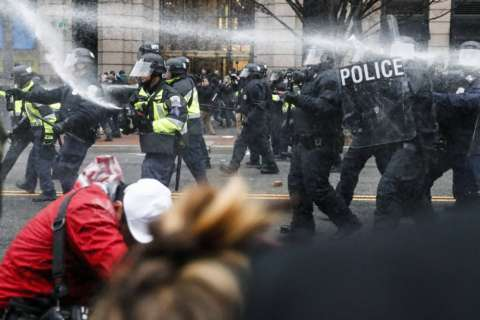 Judge denies motions to dismiss alleged Inauguration Day rioters' cases