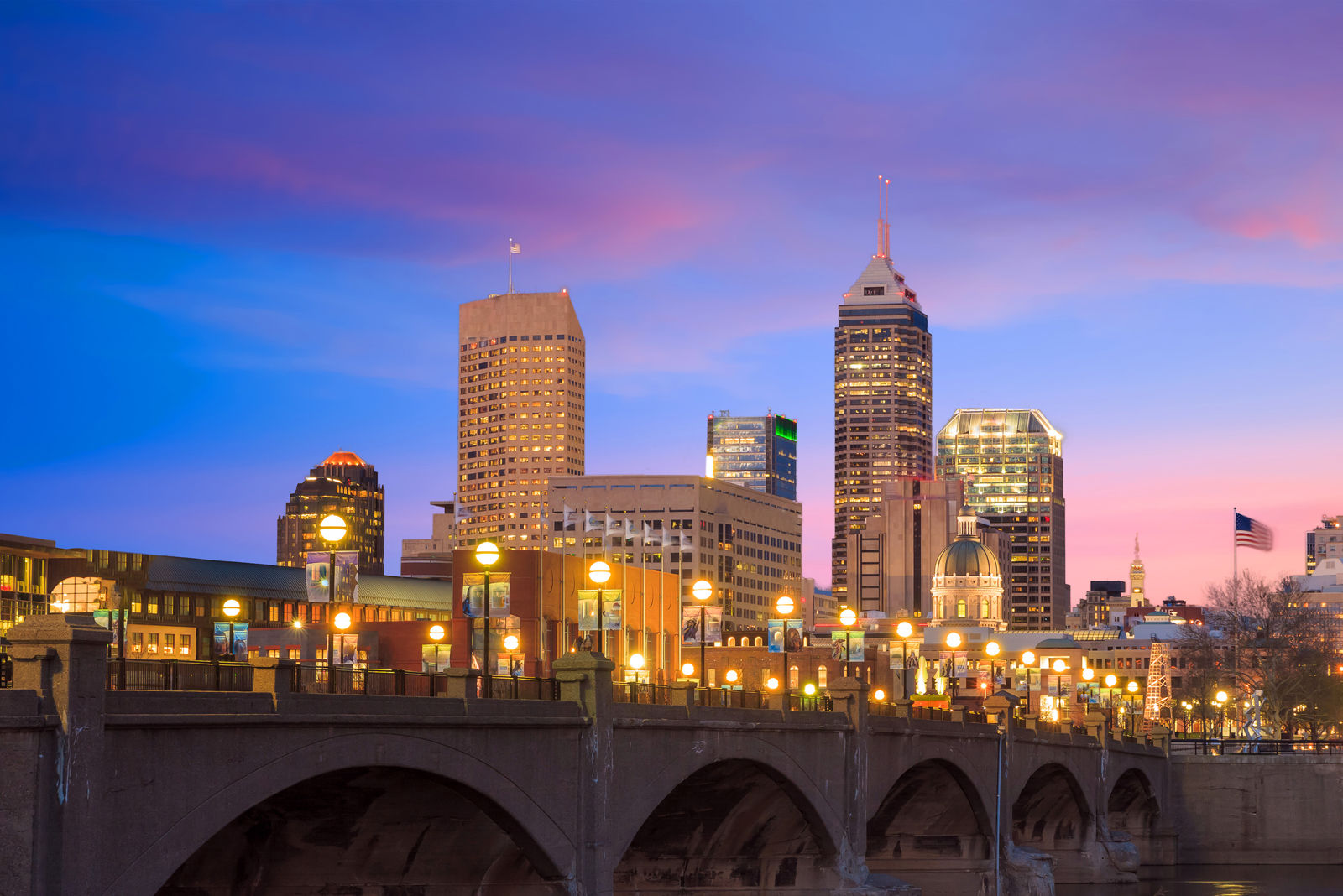 Indianapolis, Indiana is known for Hoosier hospitality, which suits bed bugs well. The city ranks eighth on Terminix's list. (Thinkstock)
