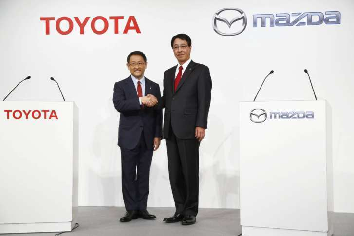 Rumored Mazda-Toyota tie-up could yield U.S. assembly plant, electrified cars