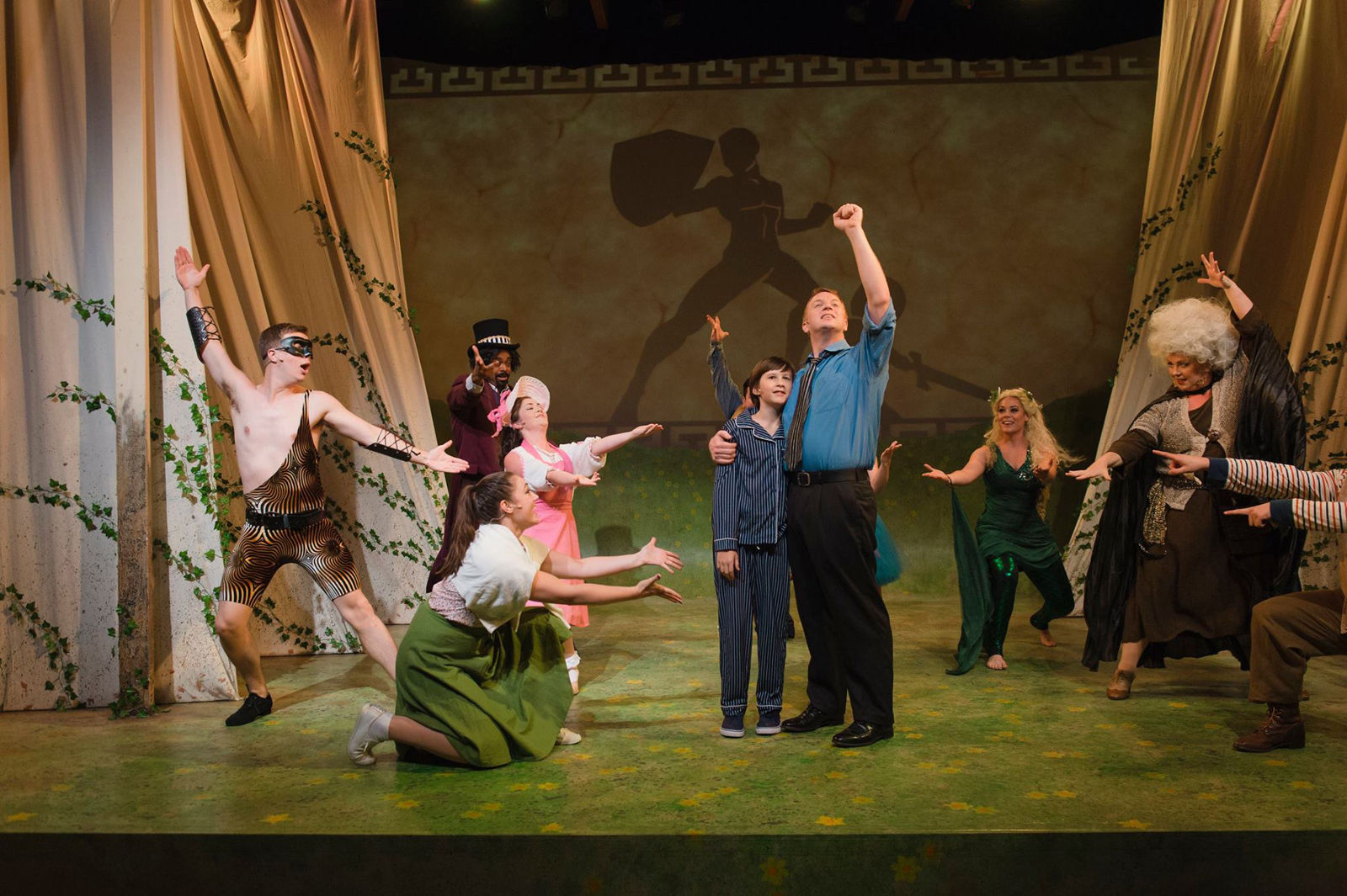 "The musical ""Big Fish"" makes its D.C. premiere at Keegan Theatre now through Sept. 2.  (Courtesy Keegan Theatre)"