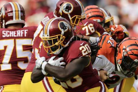 Redskins start slow again, net first preseason win