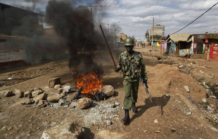 Shot Dead In Kenya Elections Protests