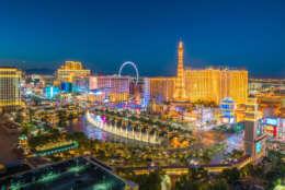 Las Vegas, Nevada ranks fourth on the list. (Thinkstock)