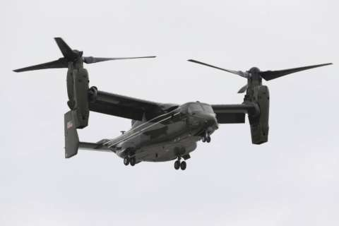 3 US Marines missing after aircraft crashes off Australia