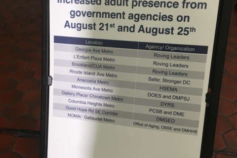 More supervision planned at key Metro stations as DC goes back to school