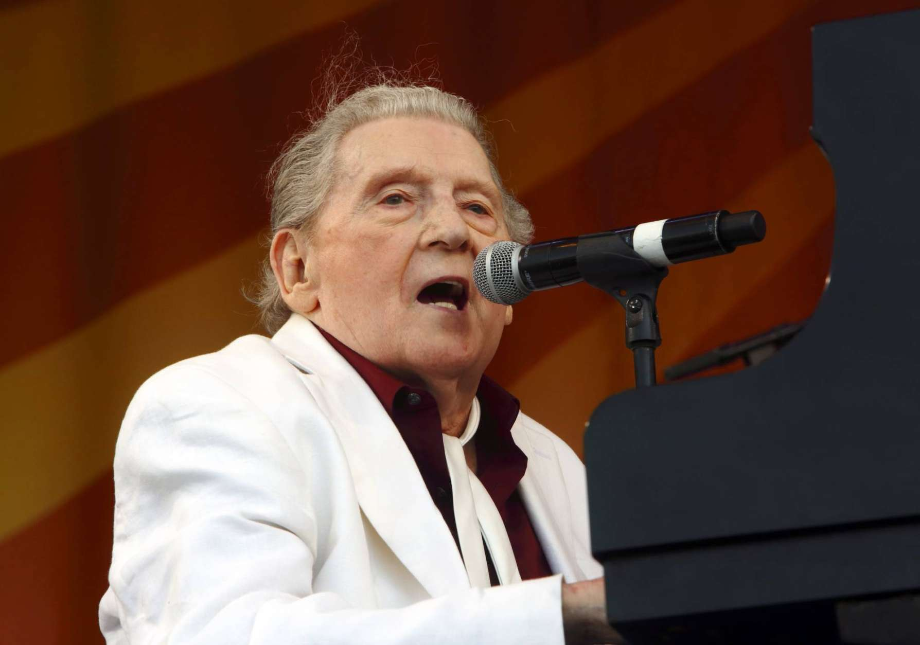 Jerry Lee Lewis, New Orleans Jazz & Heritage Festival