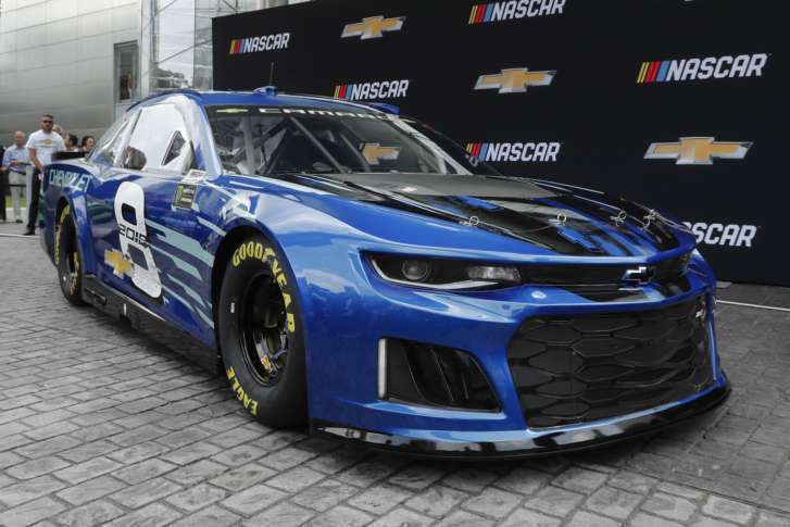 Chevrolet Introduces Camaro Zl1 For 2018 Nascar Cup Series Wtop